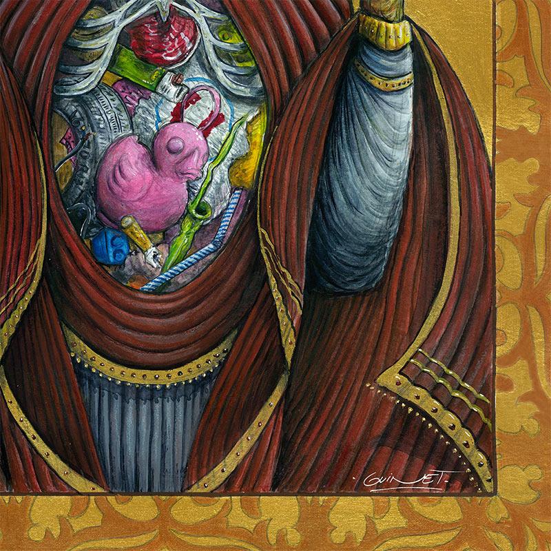 Julien Guinet - The Holy Virgin (Detail 2)