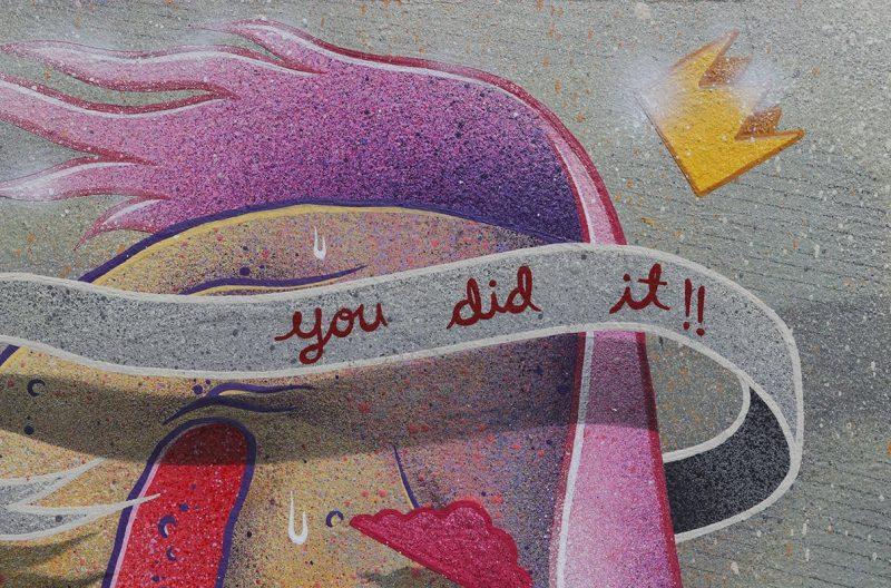 Karl Deuble - You Did It!! (Detail 1)