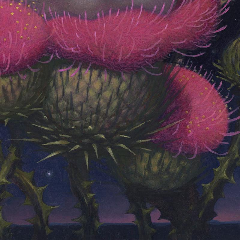 Kristin Kwan - Cheshire Cat Night (Detail 3)