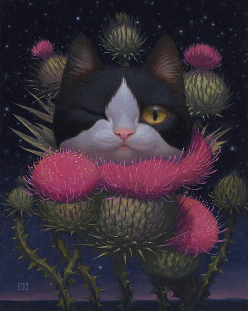 Kristin Kwan - Cheshire Cat Night