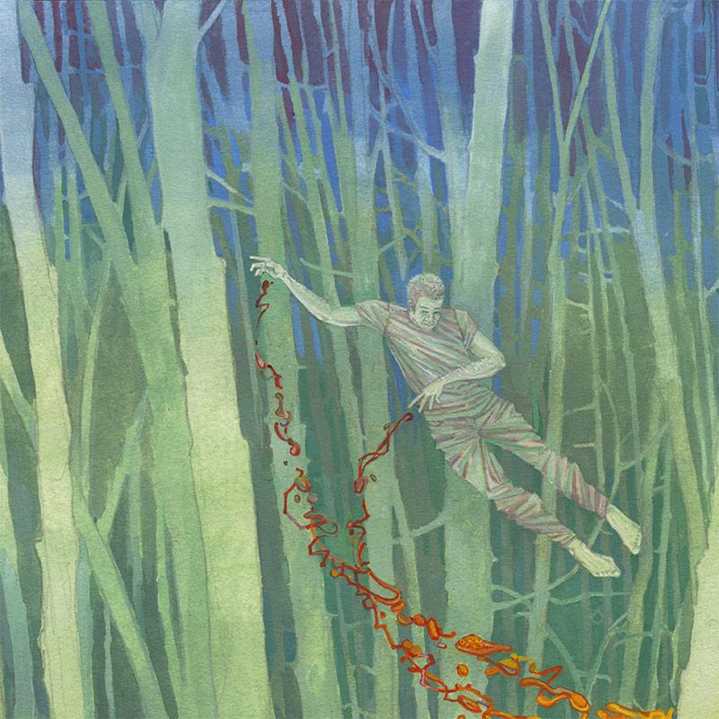 Michael Dandley - The Hermit (Detail 1)