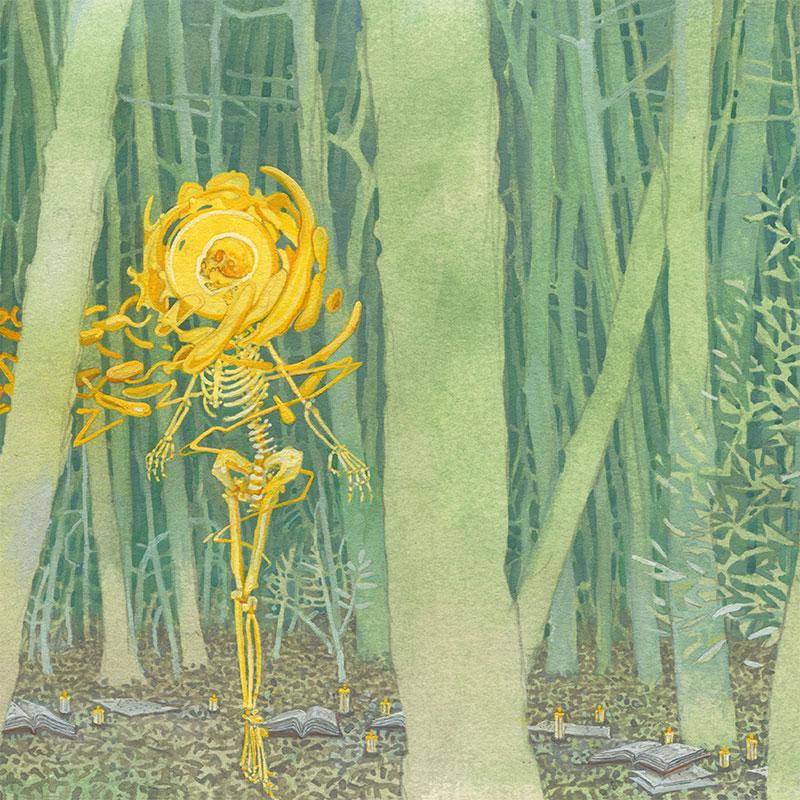 Michael Dandley - The Hermit (Detail 2)
