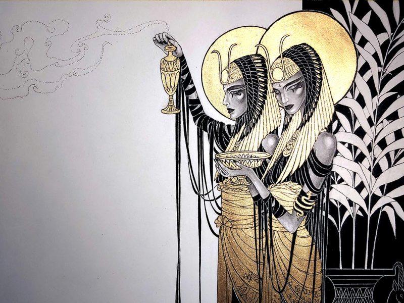 Orphne Acheron - Sun.God.Invocation.II.MMXXI. (Detail 1)