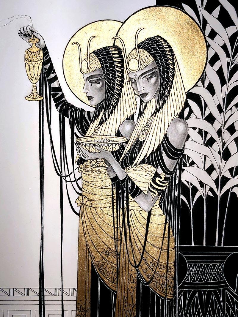 Orphne Acheron - Sun.God.Invocation.II.MMXXI. (Detail 3)