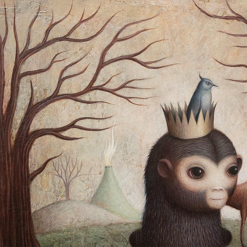 Paul Barnes - Rise of the Monkey King (Detail 2)