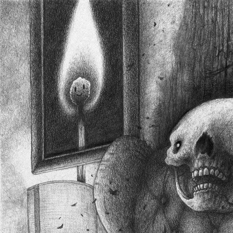 Gloombrow - Premeditated Spontaneous Human Combustion (Detail 1)