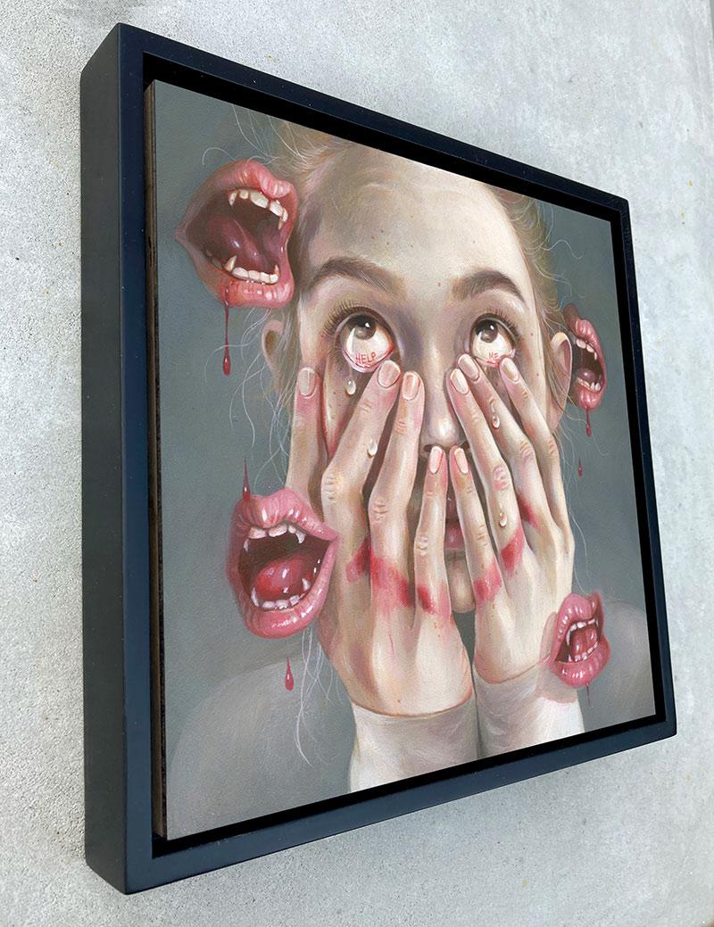 Hanna Jaeun - Rumors and Lies (Framed - Side)