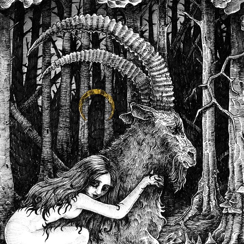 Ivan Meshkov - Witch (Detail 2)