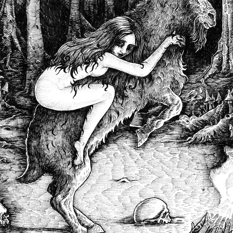 Ivan Meshkov - Witch (Detail 3)