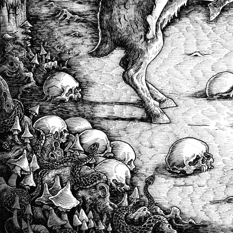 Ivan Meshkov - Witch (Detail 4)