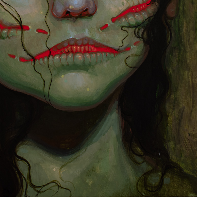 Jacqueline Gallagher - It Speaks for the Drowned (Detail 2)