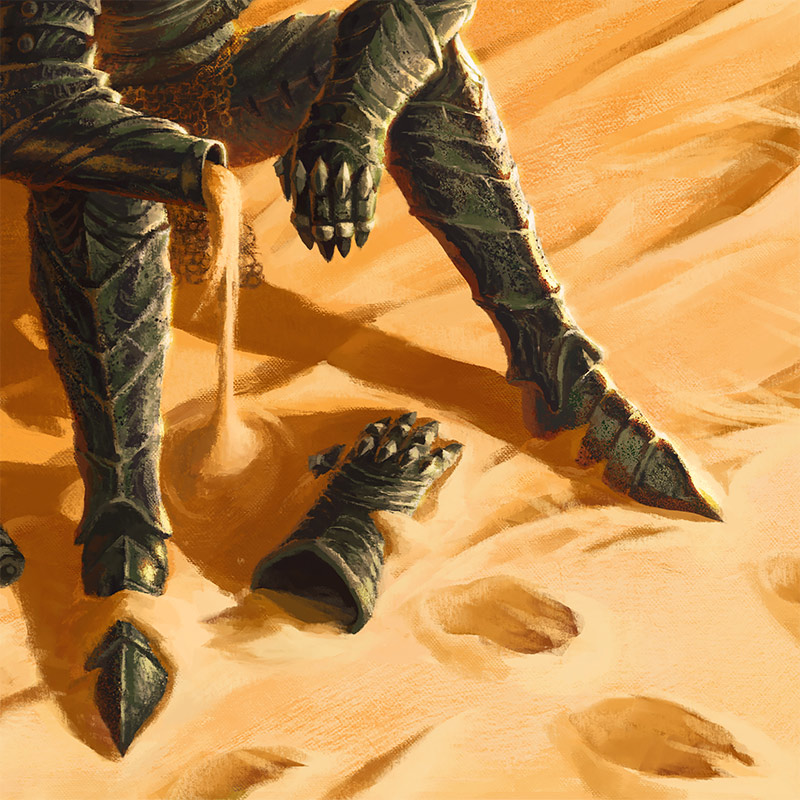 James Bousema - Battle Worn (Detail 2)