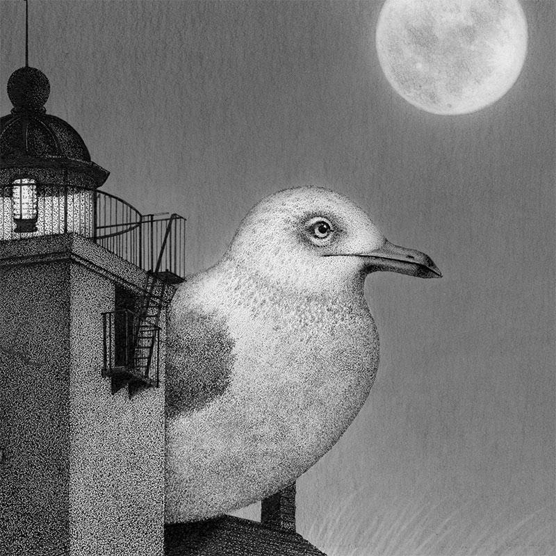 Juliet Schreckinger - Horton's Lighthouse (Detail 1)