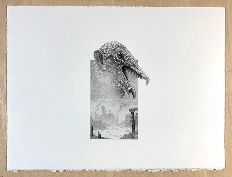 Martinez Canovas - Mumur's Vulture (Desk)