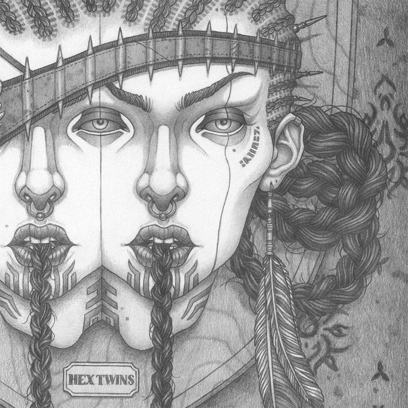 Michael Miller - Hex Twins (Detail 2)