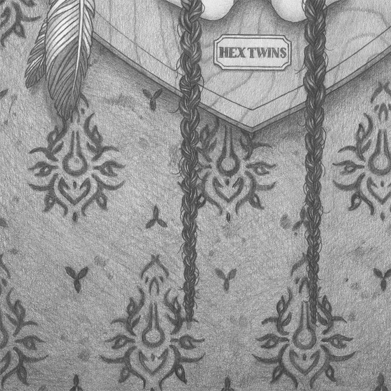 Michael Miller - Hex Twins (Detail 3)
