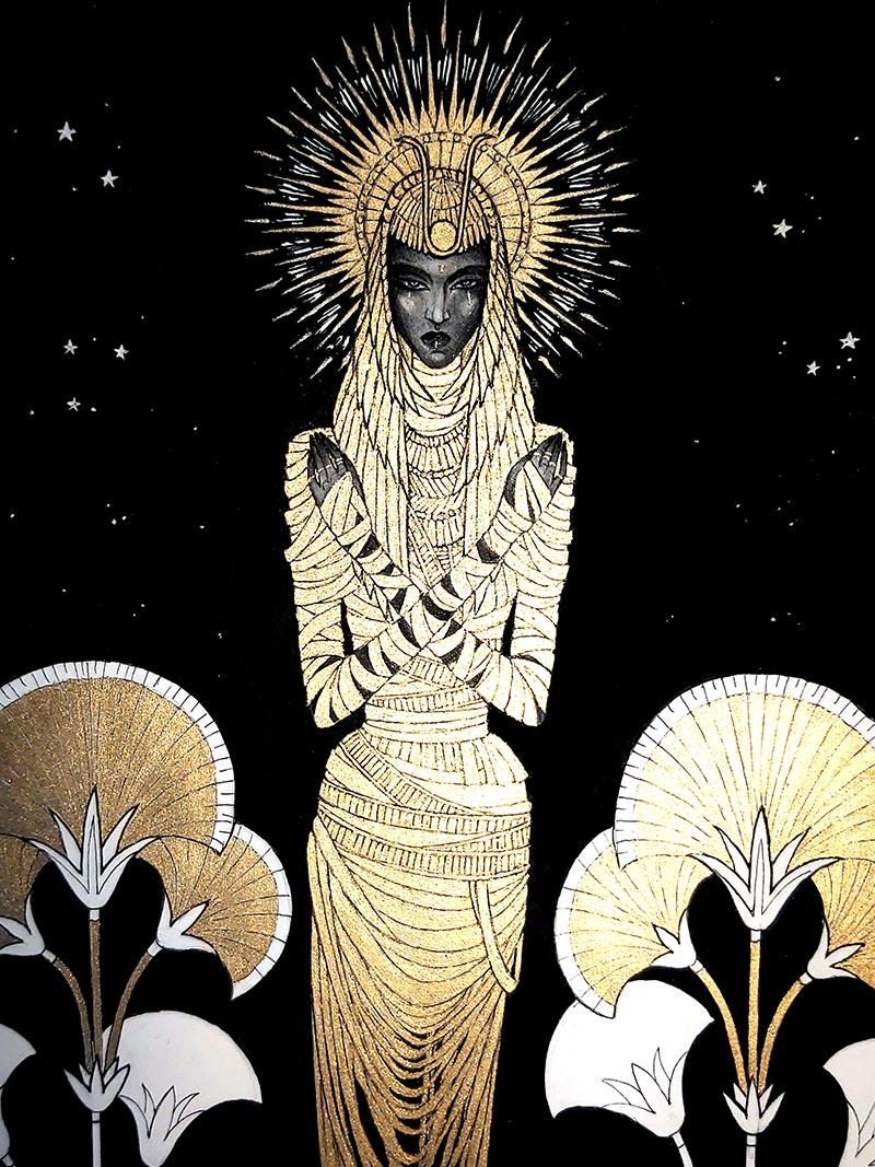 Orphne Acheron - Stellar Sphinx .III.MMXXI. (Detail)