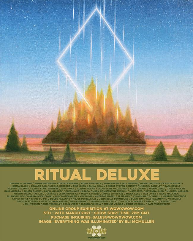 Ritual Deluxe - Flyer (Eli McMullen)