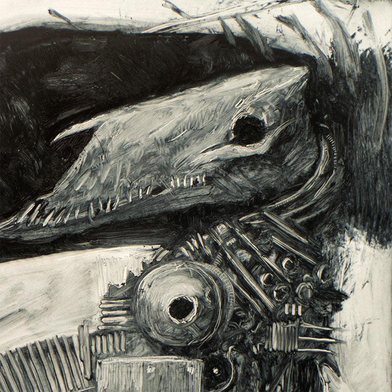 Sam Araya - The Mekatriga - Decima (Detail 1)