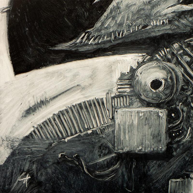 Sam Araya - The Mekatriga - Decima (Detail 2)