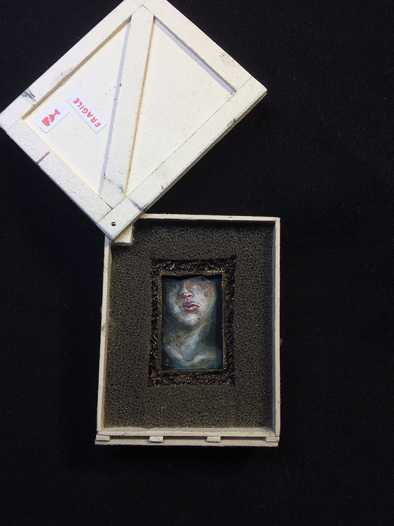 Allison Sommers - Injured Bust (In Crate 1)