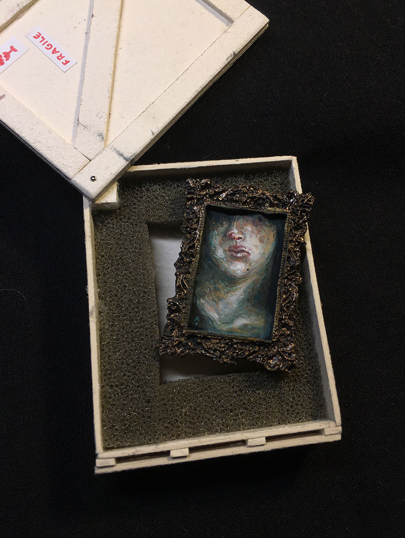 Allison Sommers - Injured Bust (In Crate 2)
