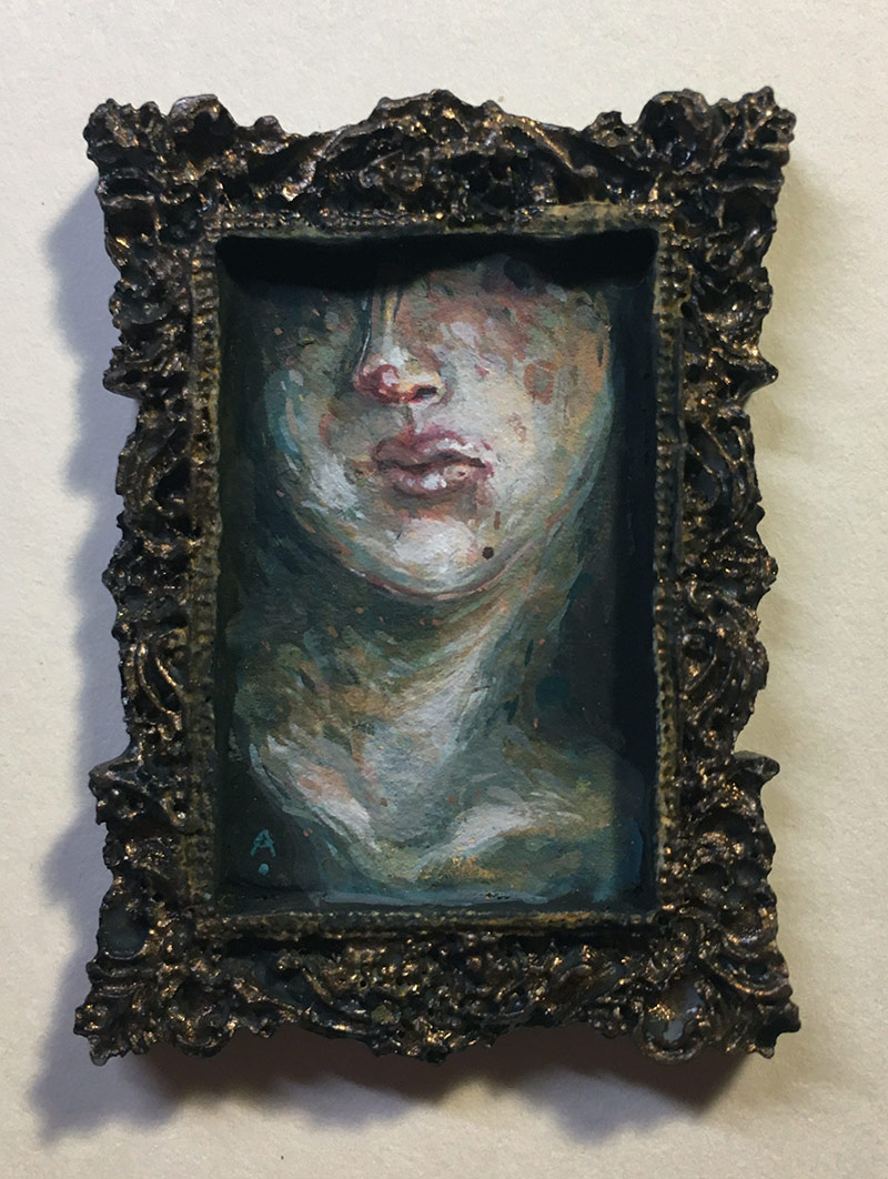 Allison Sommers - Injured Bust (Painting)