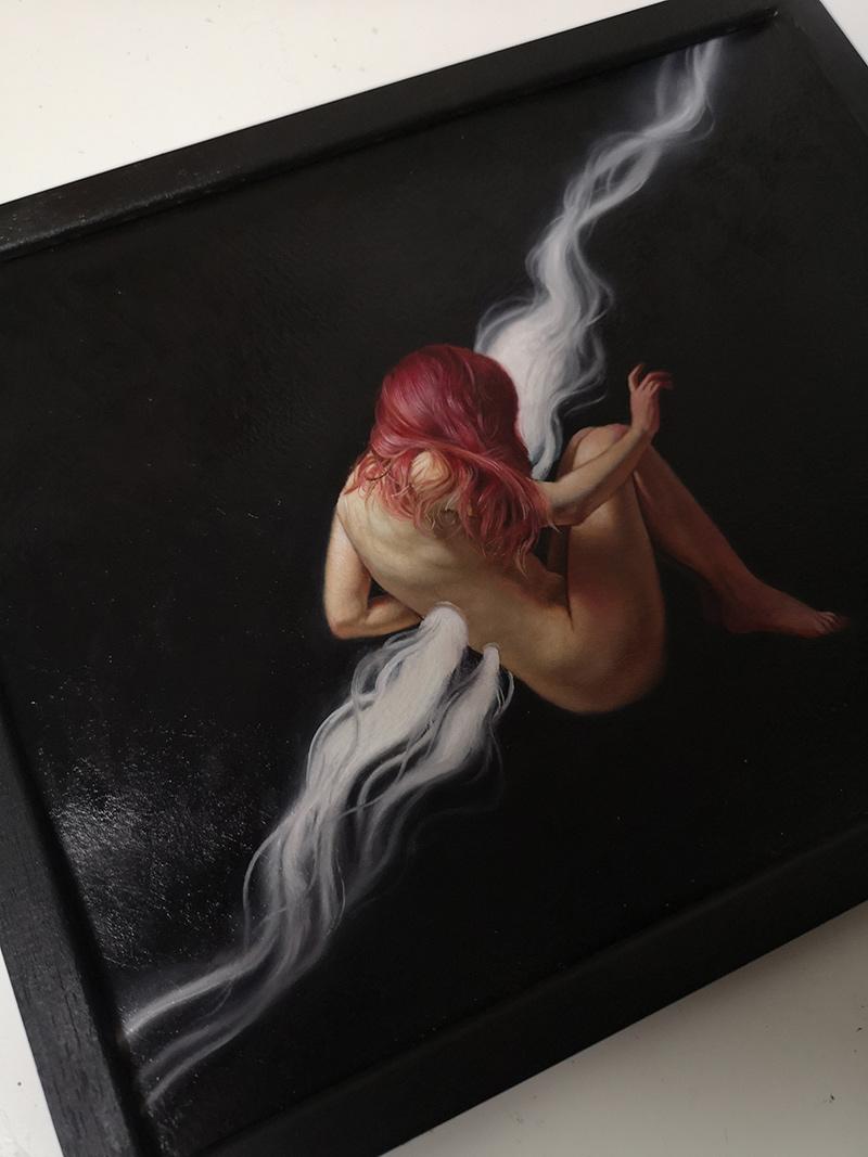 Ania Tomicka - Breathing (Framed 2)