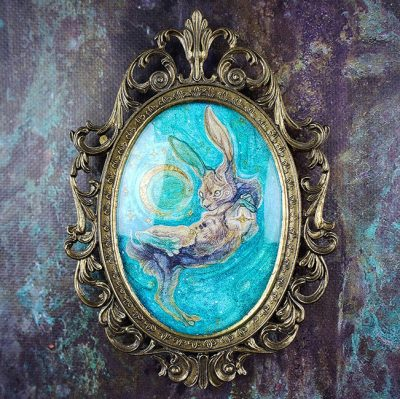 Aria Fawn - Apprehension of Starlight (Framed - Front)