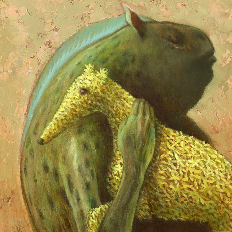 Brad Gray - 'T' and the Flower Dog (Detail 1)