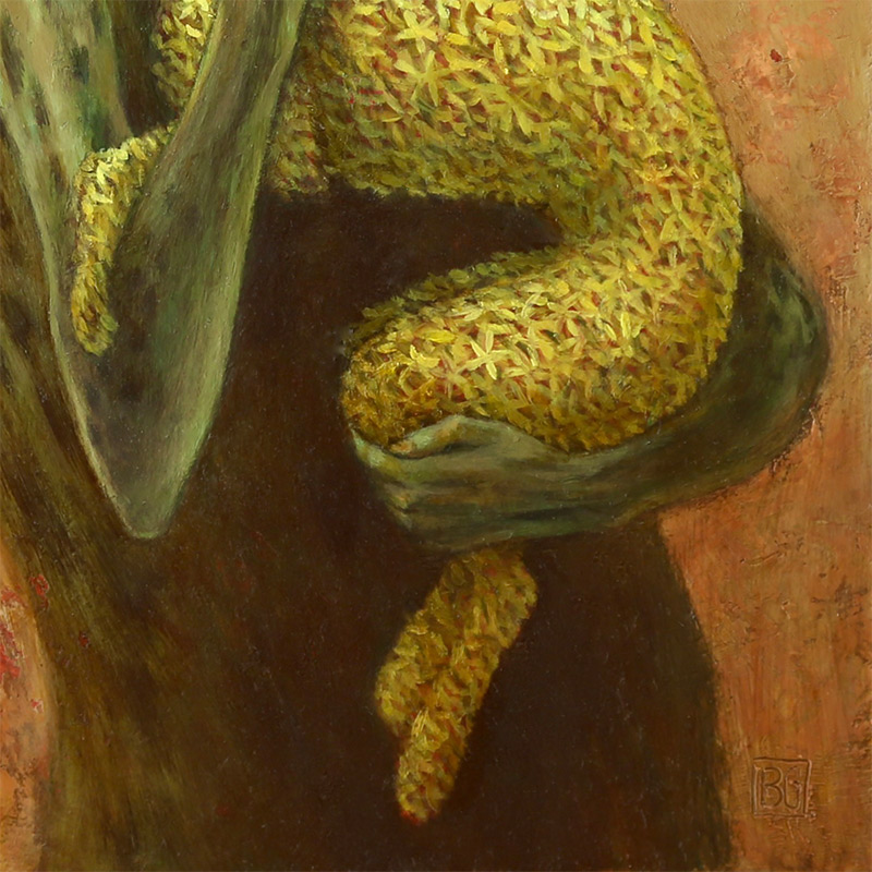 Brad Gray - 'T' and the Flower Dog (Detail 2)
