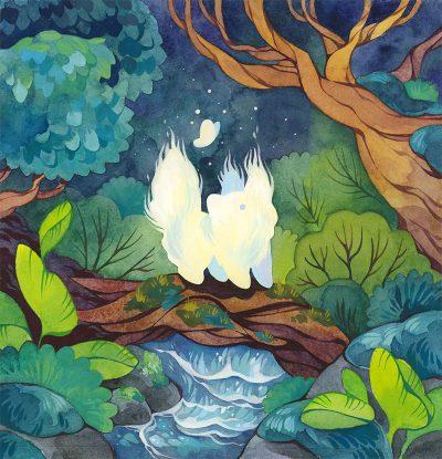 Cleonique Hilsaca - Forest Spirit