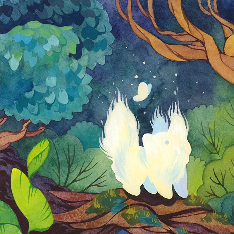 Cleonique Hilsaca - Forest Spirit (Detail 1)