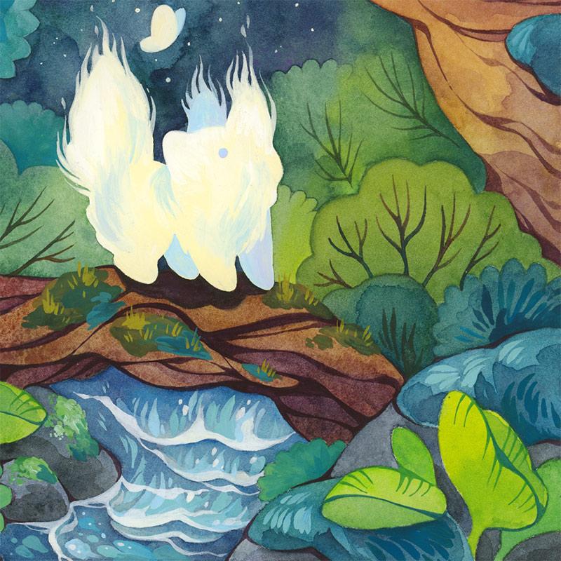 Cleonique Hilsaca - Forest Spirit (Detail 2)