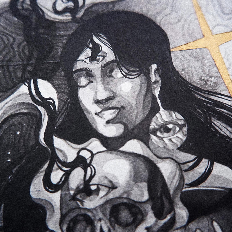 Diego Andrade - Ritual (Detail 1)