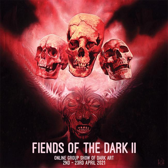 Fiends of theDark II - Shop Thumbnail - David Michael Wright