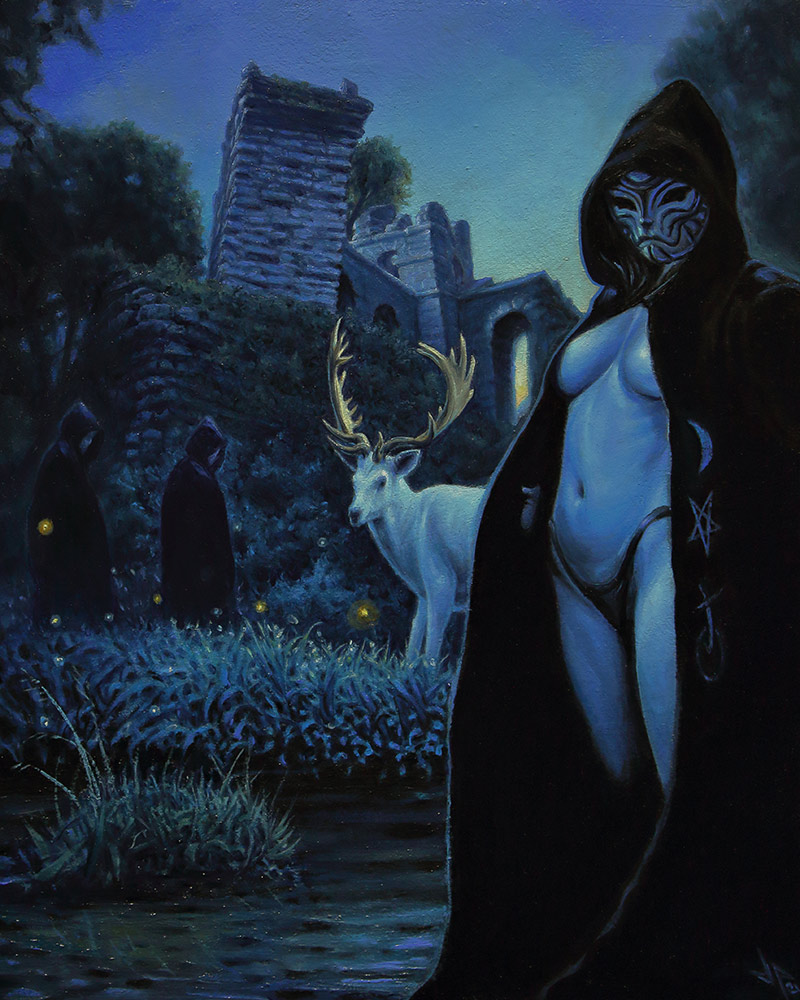 John Kelly Pevahouse - Stag of Dawn