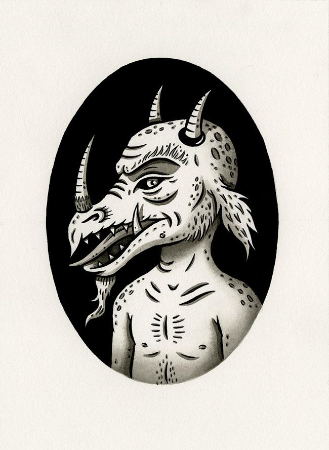 Jon MacNair - Three-Horned Beastie