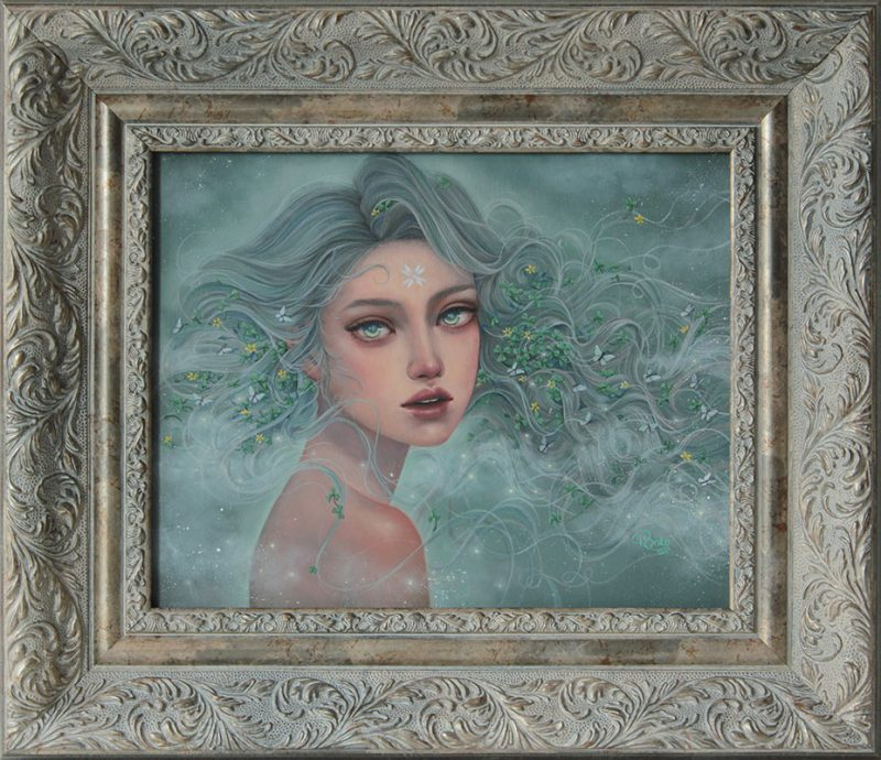 Kseniia Boko - Tenderness (Framed)