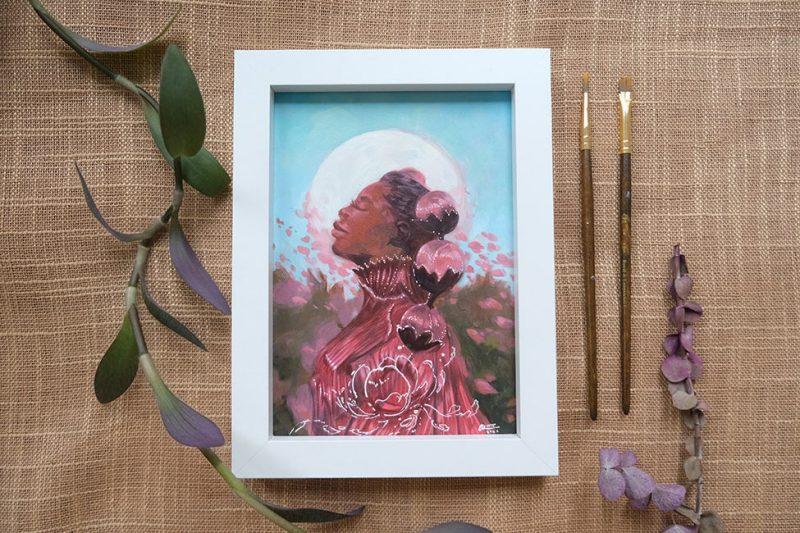Odera Igbokwe - Springtime Again (Framed 2)