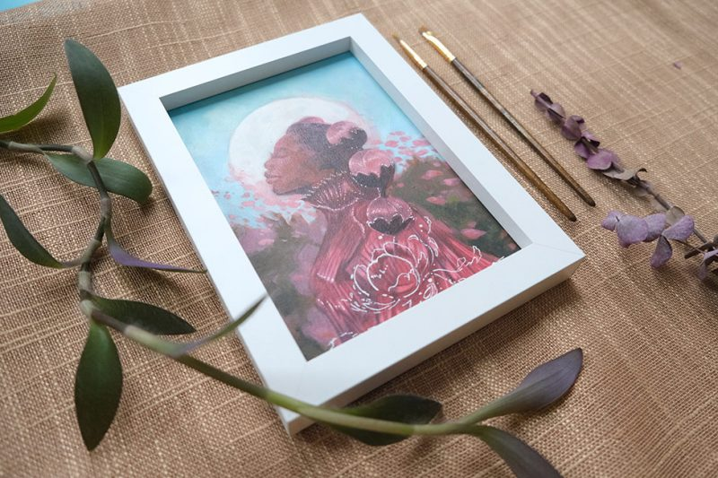 Odera Igbokwe - Springtime Again (Framed 3)