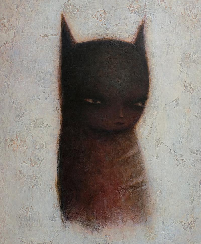 Paul Barnes - The Black Cat (Detail)