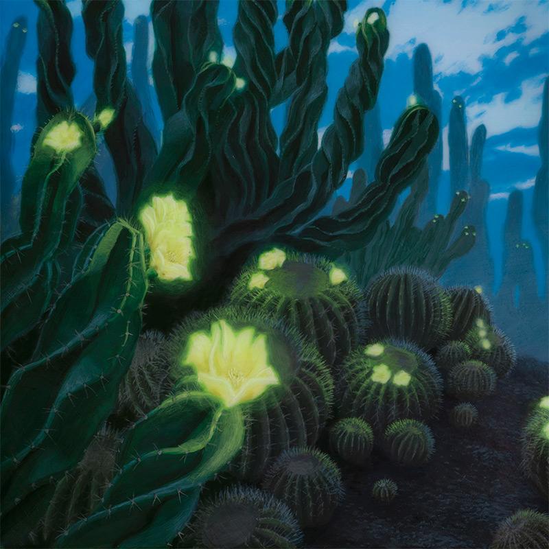 Sarah Finnigan - Evening Blooms (Detail 1)