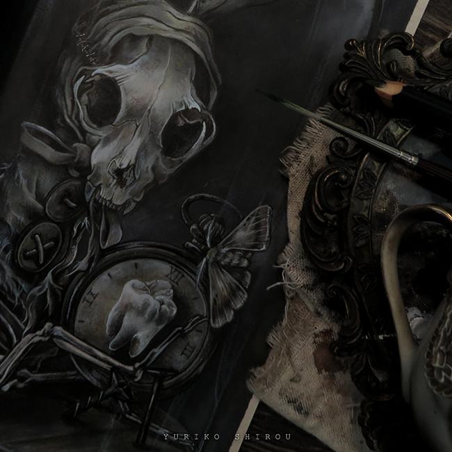 Yuriko Shirou - Puppet of Bones (Detail)