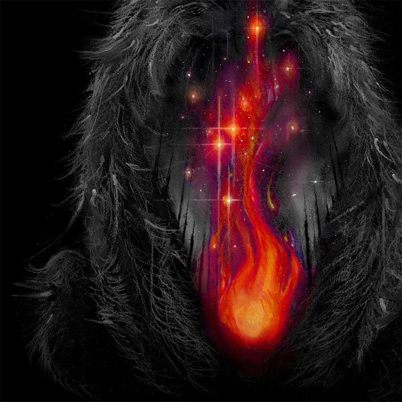 Brian Serway - Fire in the Belly (Detail 2)