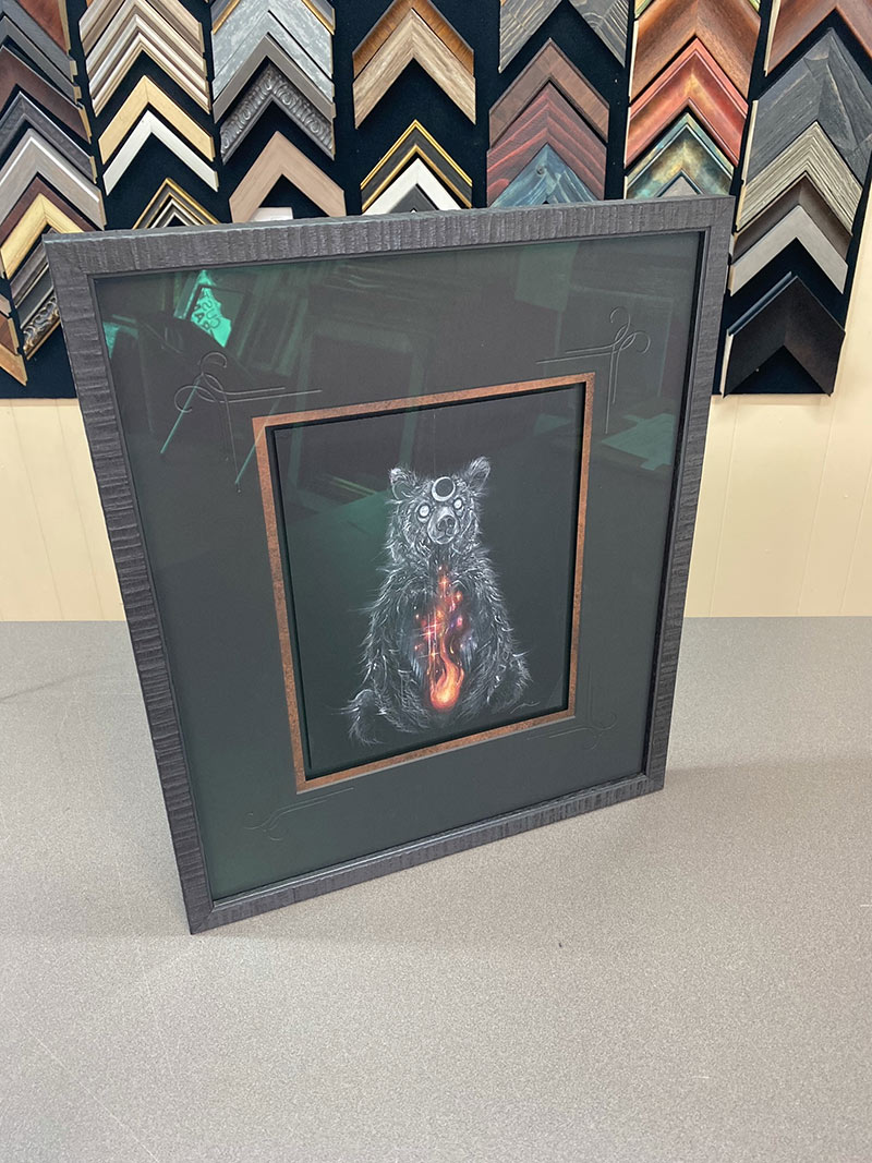 Brian Serway - Fire in the Belly (Framed)