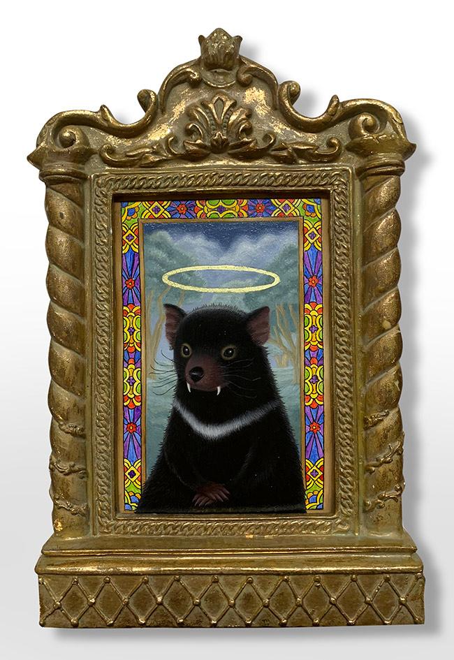 Gina Matarazzo - Little Devil (Framed)