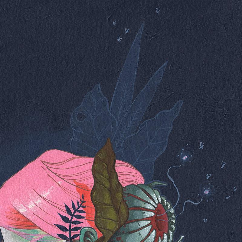 Isaac Malakkai - Flora (Detail 1)