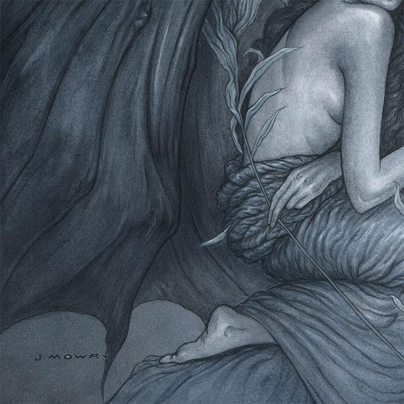 Jason Mowry - Among Dark Wings (Detail 1)