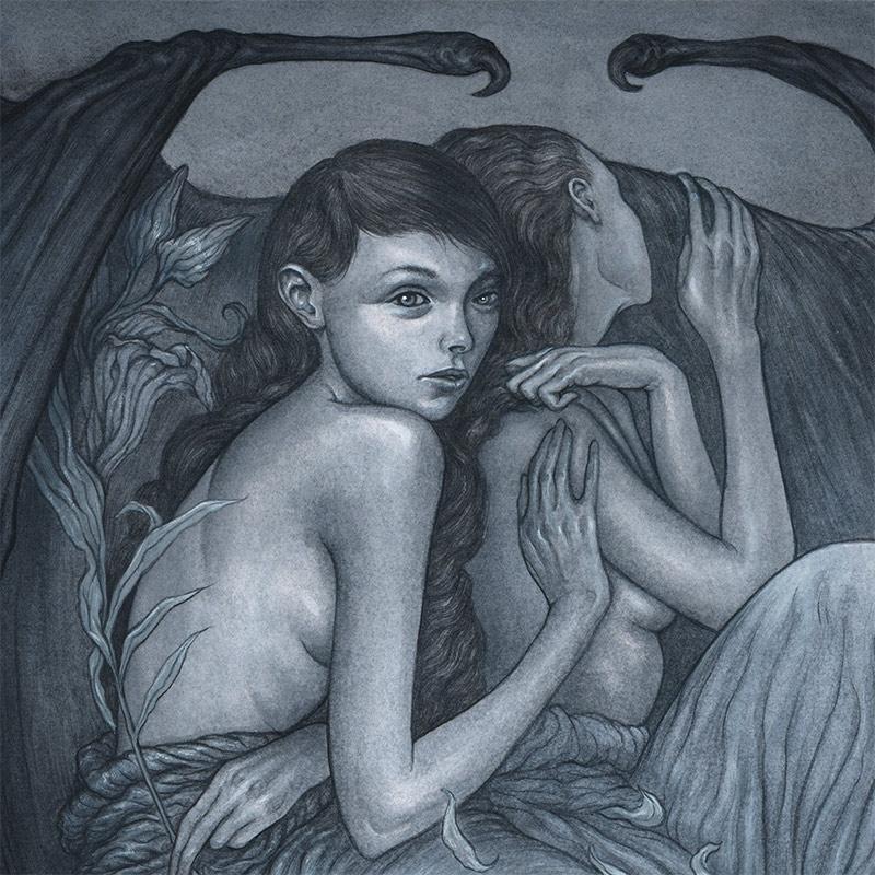 Jason Mowry - Among Dark Wings (Detail 2)